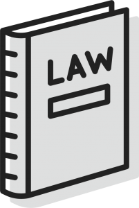An icon of a book of law for Bryant Law