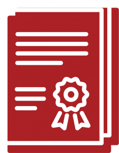 A deed icon for Bryant Law's areas of practice, for Estate Planning legal work and specialty